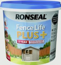 Ronseal Fence Life Plus 5L - Warm Stone